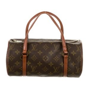 RARE AUTHENTIC LOUIS VUITTON PAPILLON HANDBAG